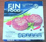 Котлеты с говядиной и свининой ТМ «FIN FOOD»