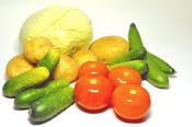 Тест овощей