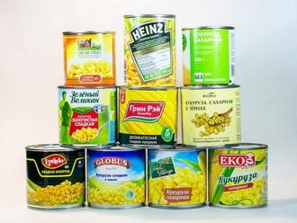 Тест: консервированная кукуруза