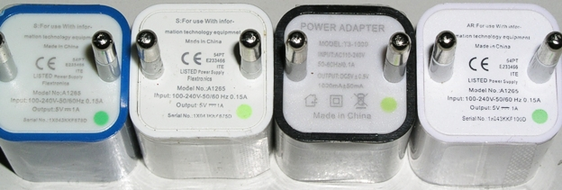 Тест миниатюрных зарядных устройств